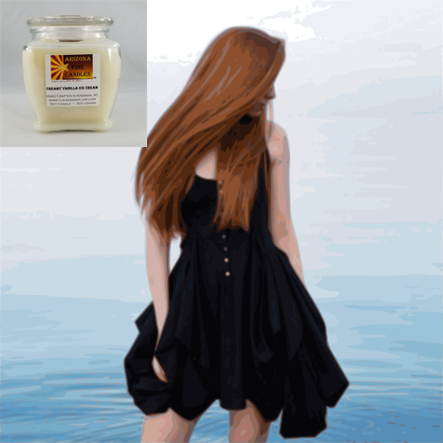 Softly Sensual 500g Soy Footed Jar Candle