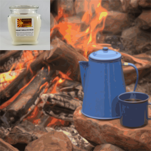 Cowboy Coffee 500g Soy Footed Jar Candle