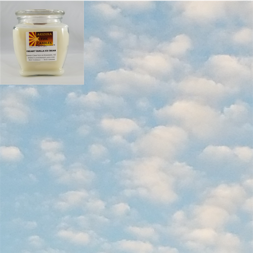 Big Blue Sky 500g Soy Footed Jar Candle