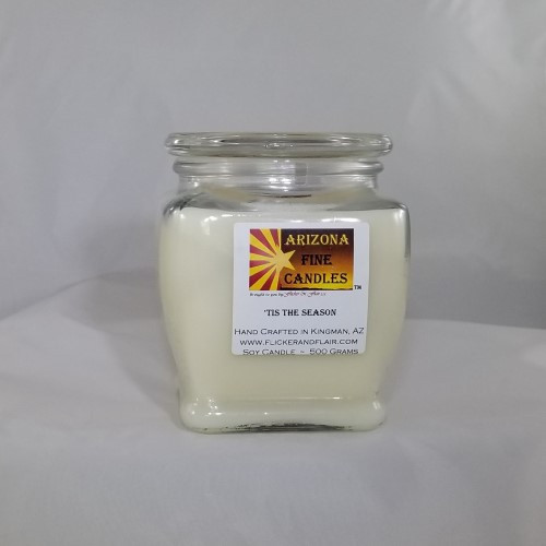 'Tis the Season 500g Soy Footed Jar Candle