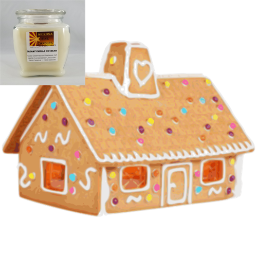 Vanilla Gingerbread 500g Soy Footed Jar Candle