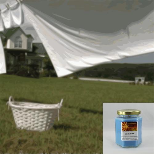 Cotton Breeze 210g Hexagon Jar Soy Candle