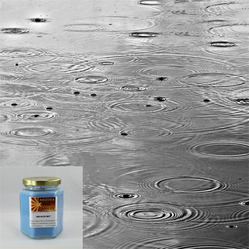 Rainy Day 210g Hexagon Jar Soy Candle