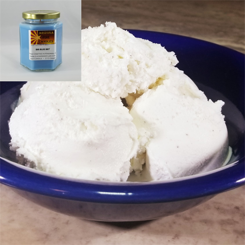 Creamy Vanilla Ice Cream 210g Hexagon Jar Soy Candle