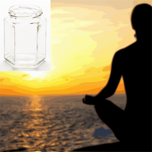 Tranquility 210g Hexagon Jar Soy Candle
