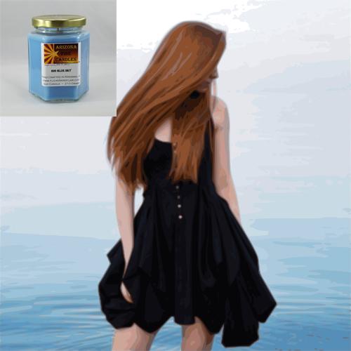Softly Sensual 210g Hexagon Jar Soy Candle