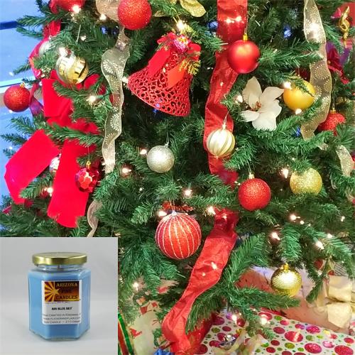 Holiday Cheer 210g Hexagon Jar Soy Candle