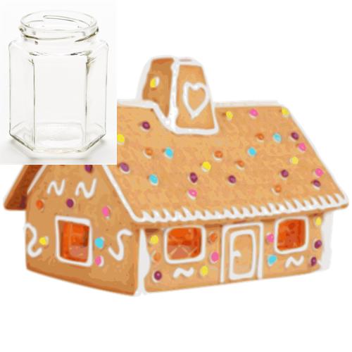 Vanilla Gingerbread 210g Hexagon Jar Soy Candle