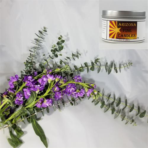 Lavender & Eucalyptus 175g Tin Soy Candle