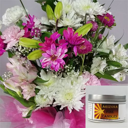 Romantic Bouquet 175g Tin Soy Candle