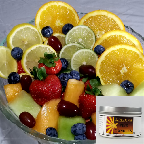 Fresh Fruit 175g Tin Soy Candle