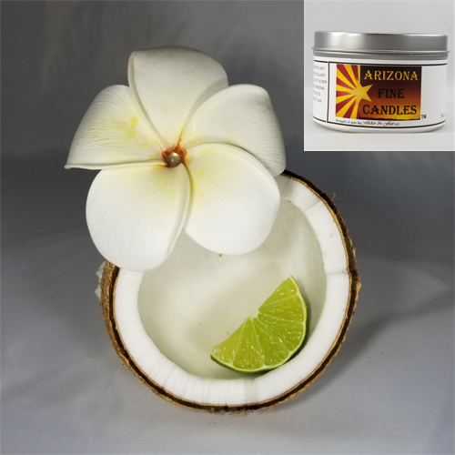 Hawaiian Coconut 175g Tin Soy Candle