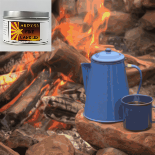 Cowboy Coffee 175g Tin Soy Candle