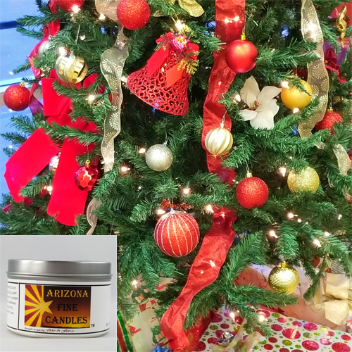 Holiday Cheer 175g Tin Soy Candle