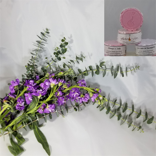 Lavender & Eucalyptus Bubble Bath Bombs - Four Pack