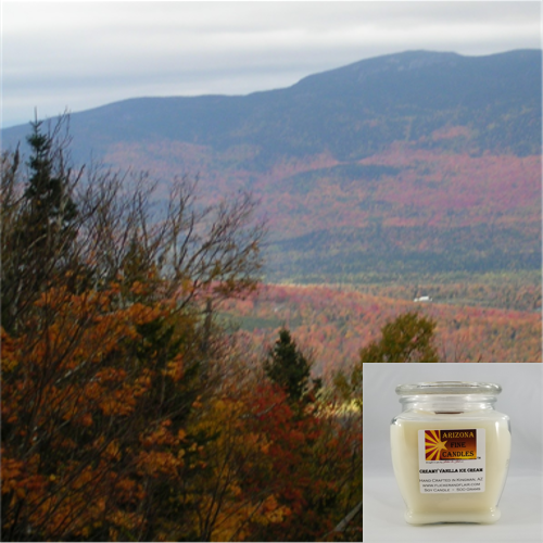 Leaf Peeper 500g Soy Footed Jar Candle
