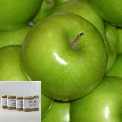 Granny Smith Cocoa & Shea Butter Natural Soap 4 Pack