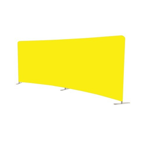 20' Curved Fabric Backdrop Graphic Only