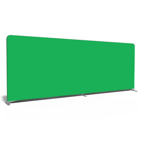 20' Double-Sided Video Backdrop: Green Screen