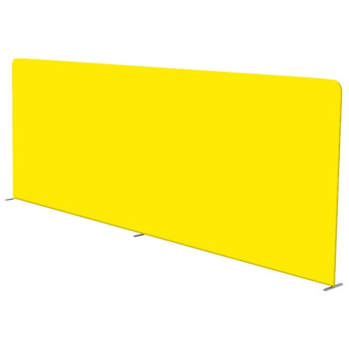 20' Flat Fabric Frame Graphic Only (Waveline)