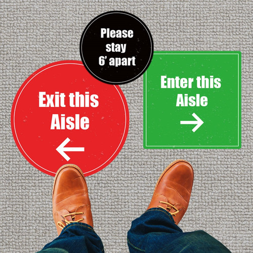 Customizable Carpet Stickers: (Pack of 5)