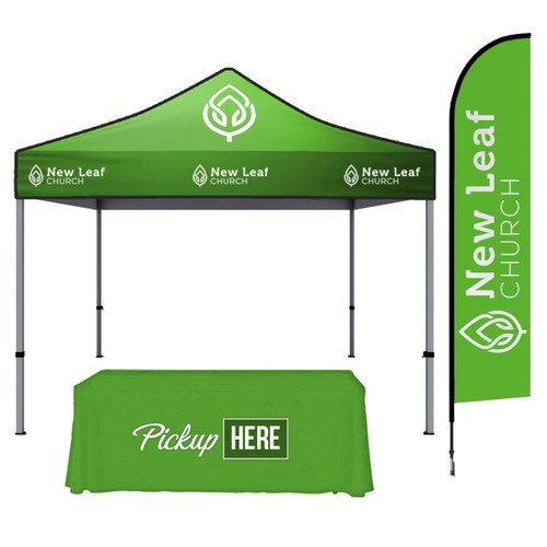 10x10 Customizable Tent: Package A