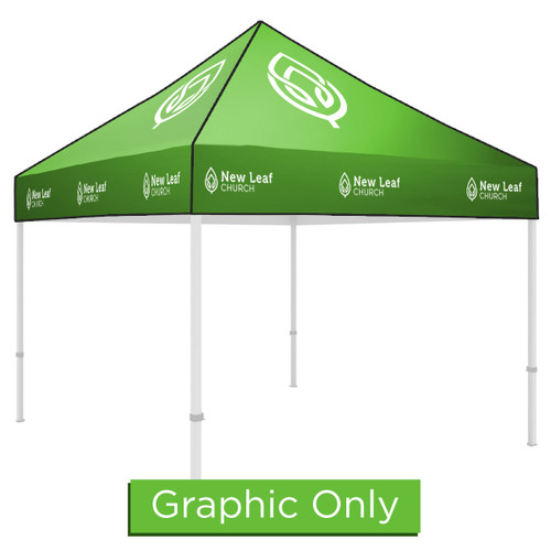 10' x 10' Custom Tent - Replacement Graphic