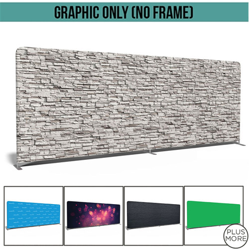 20' Double-Sided Video Backdrop Graphic Only