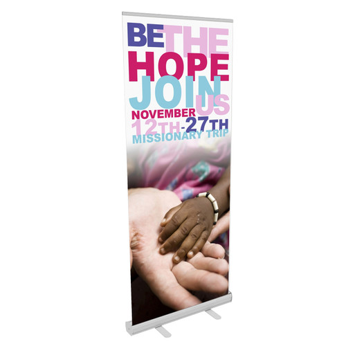 Reveal PS Vinyl Retractable Banner Stand