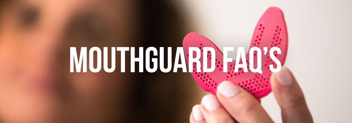 Mouthguard FAQ banner