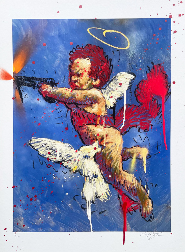 Anti Gun Violence by Isaac Pelayo