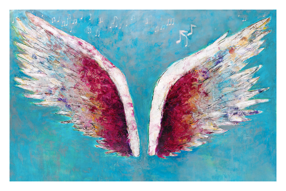 Rock Wings by Colette Miller