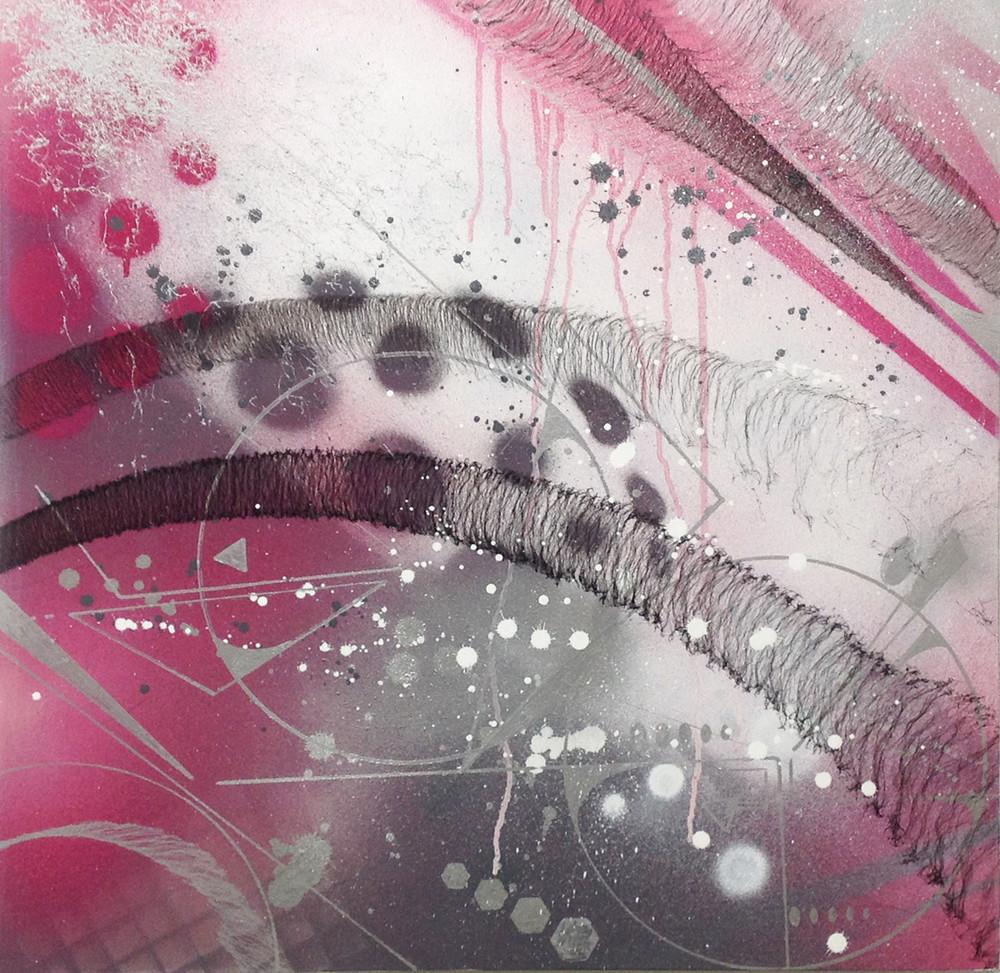 Pink Fade Geo #2 by ESPY DPT/ZNC