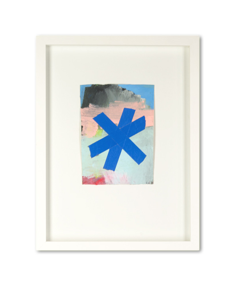 Asterisk (blue) by Matthew Heller