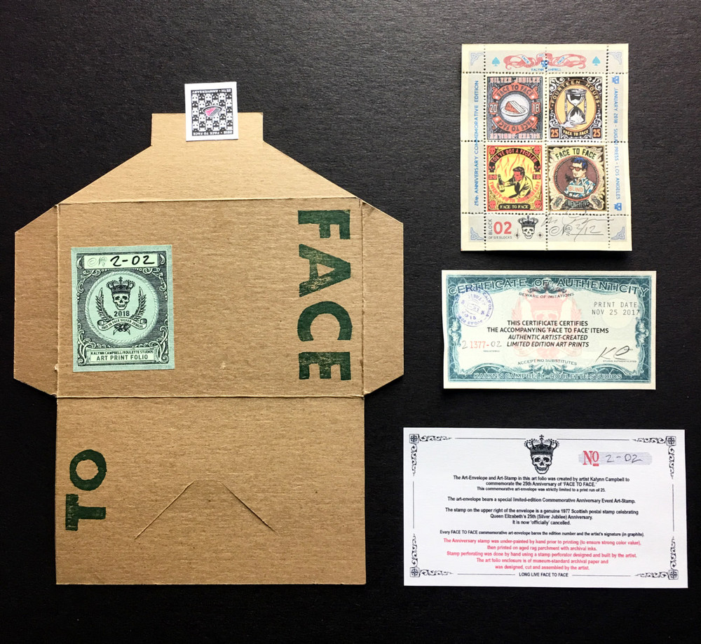Commemorative Stamp Set - Block 2 - by Kalynn Campbell