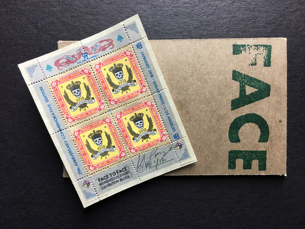 Commemorative Stamp Set - Anniversary Block - by Kalynn Campbell