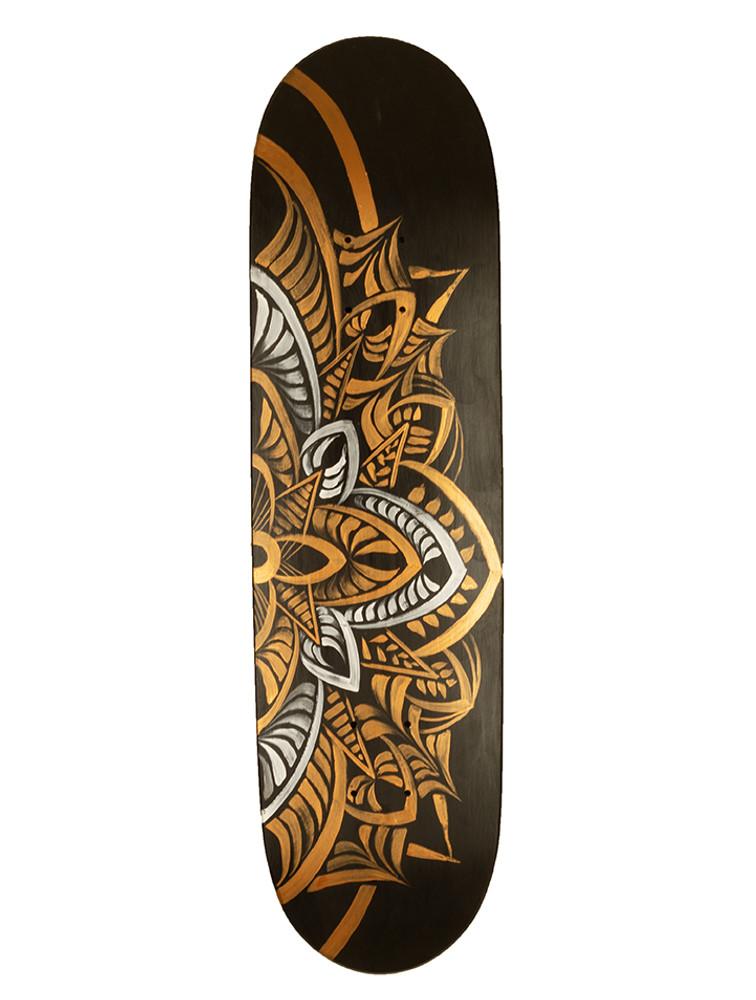 Mandala II Skate Deck by Erin Yoshi