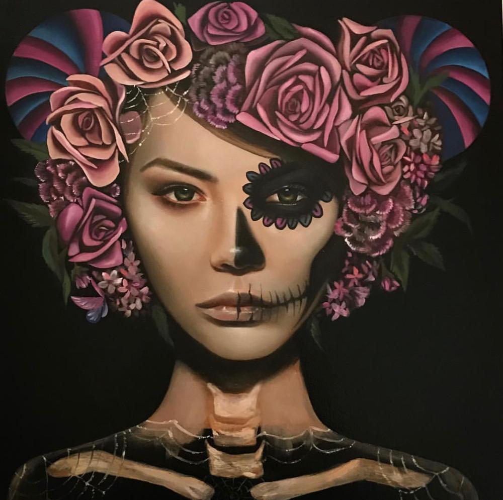 Lolita (painting) by Haydee Escobar