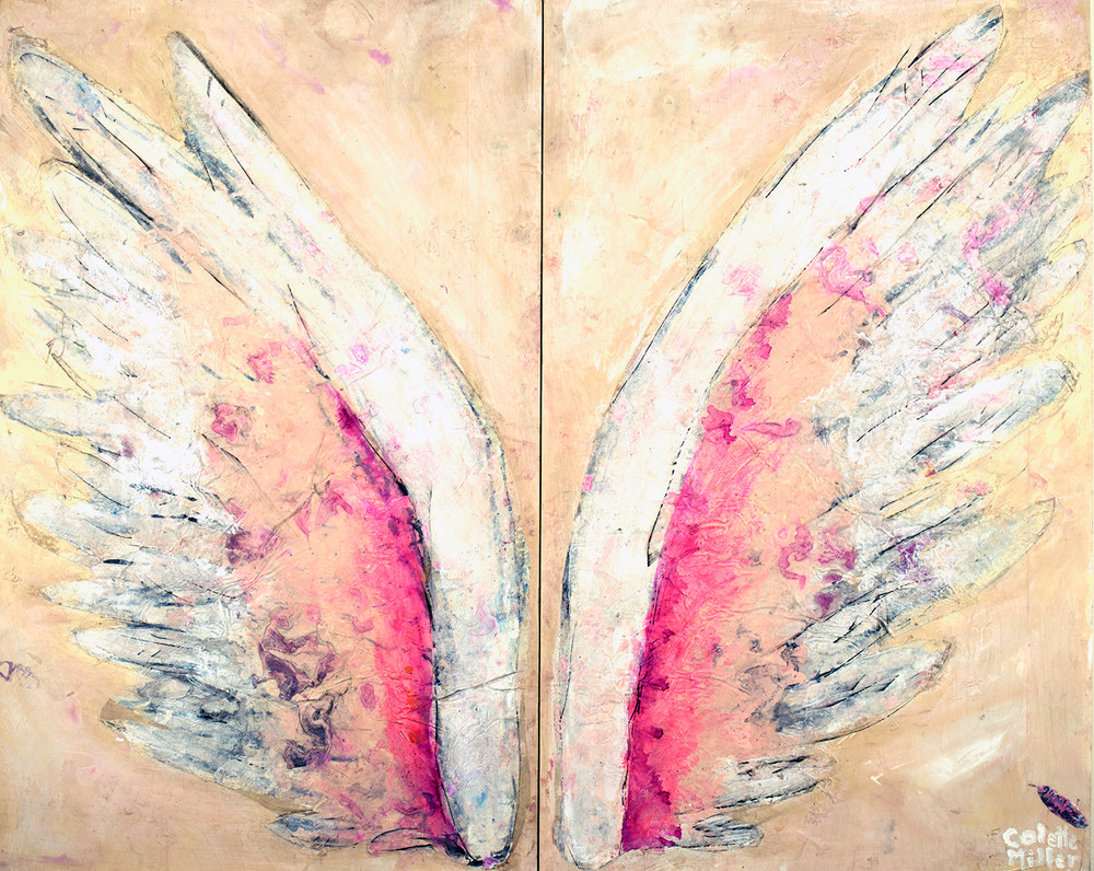 Powder Wings by Colette Miller