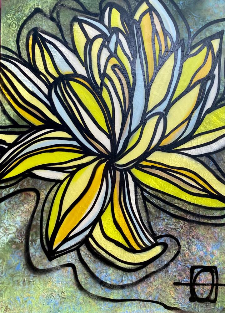 Swinger Lotus by Andrea LaHue