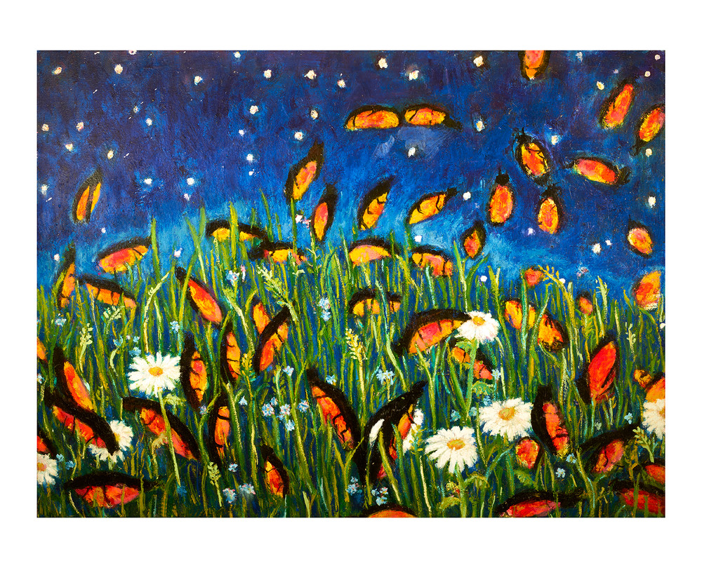 Fireflies by Colette Miller