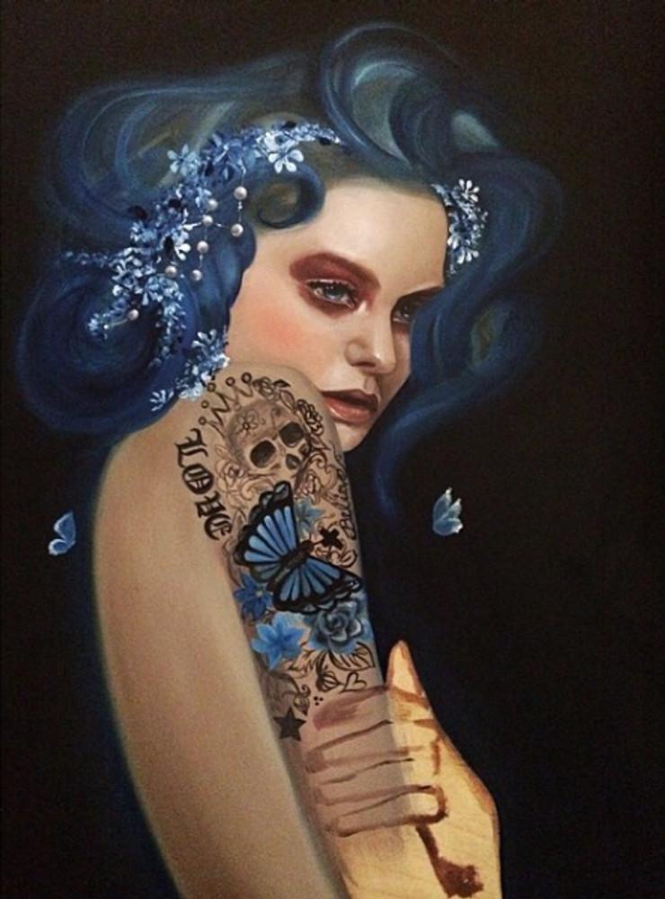 True Blue by Haydee Escobar