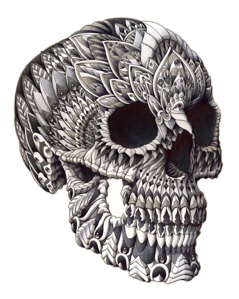 Ornate Skull (Limited Edition) by BIOWORKZ