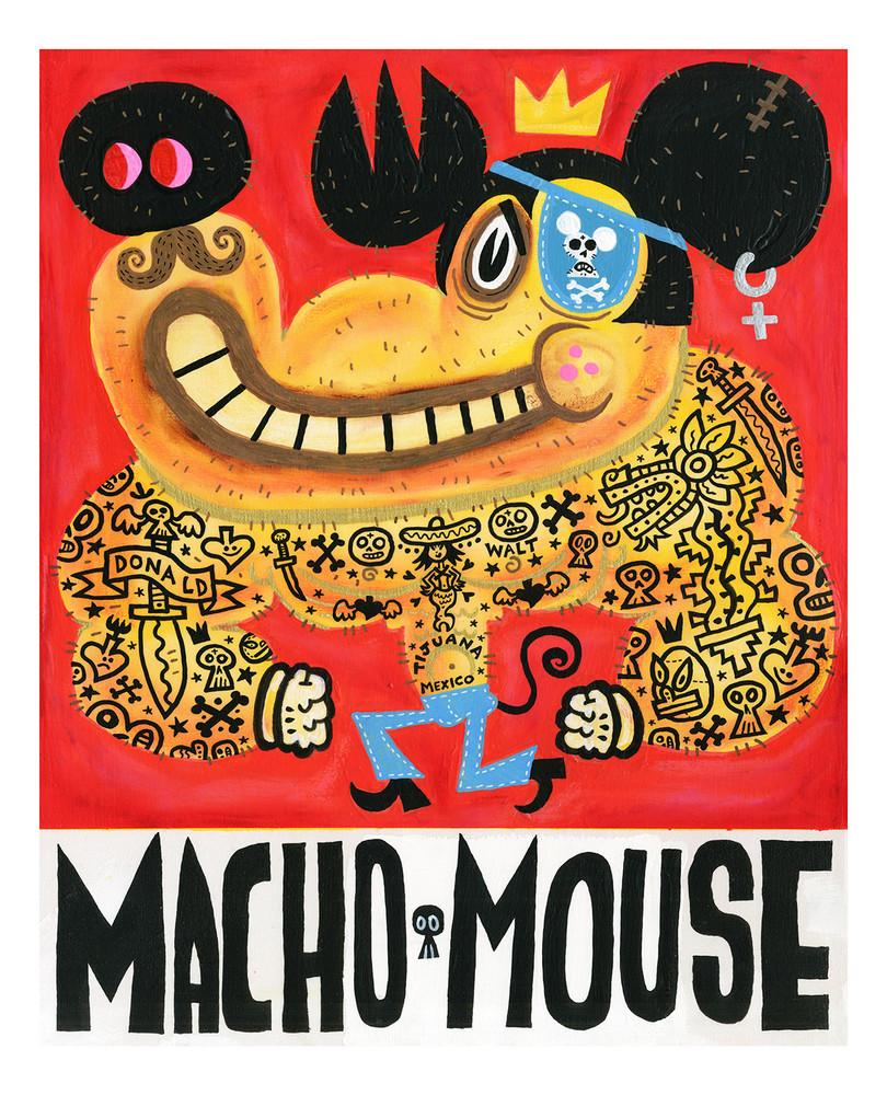 Macho Mouse by Jorge R. Gutierrez