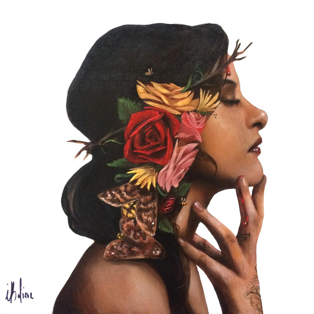 La Vida (painting) by Haydee Escobar