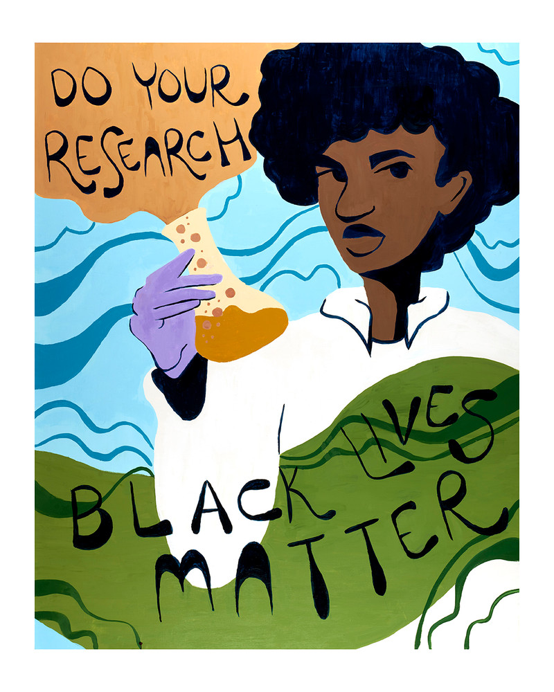 Do Your Research - Black Lives Matter by Tera Johnson