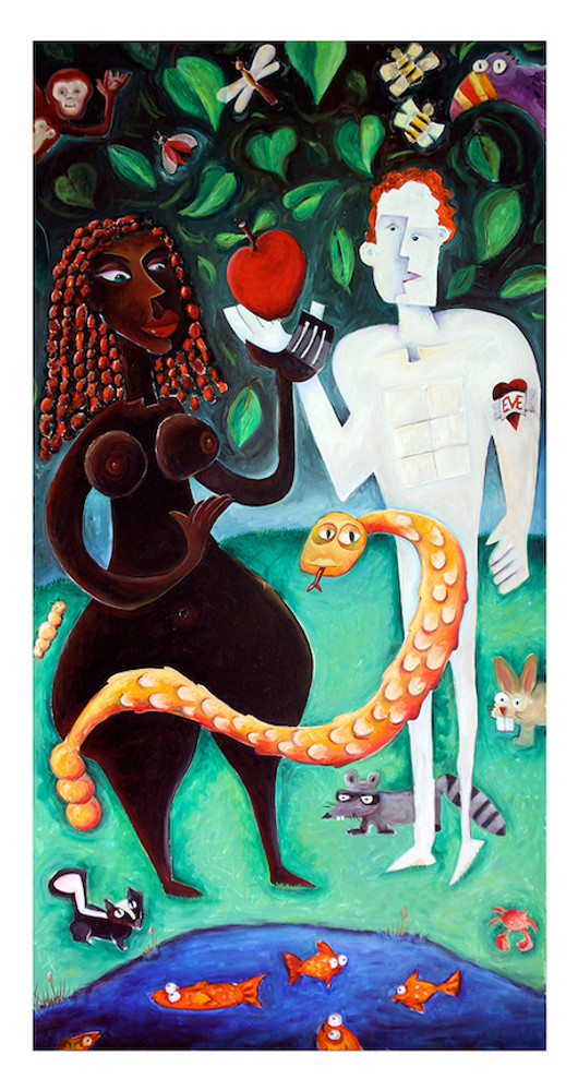 Adam & Eve by Ted Meyer