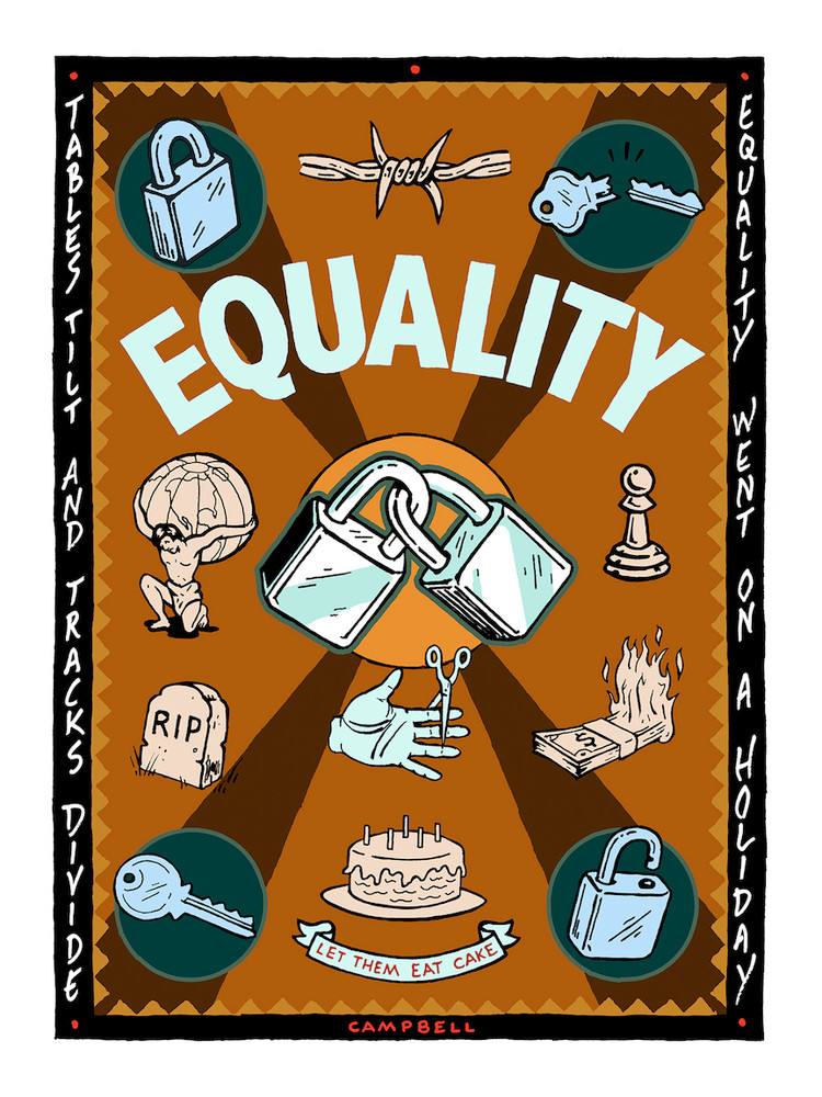 EQUALITY GOES ON HOLIDAY by Kalynn Campbell