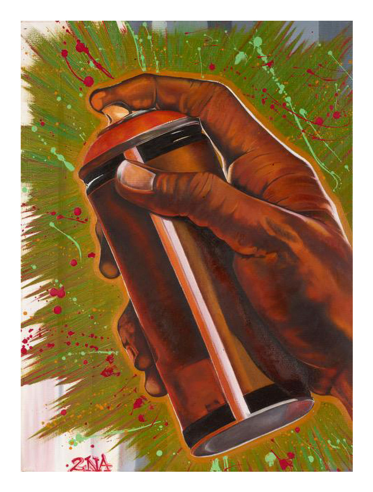 Spray Can Hand by Chali 2na