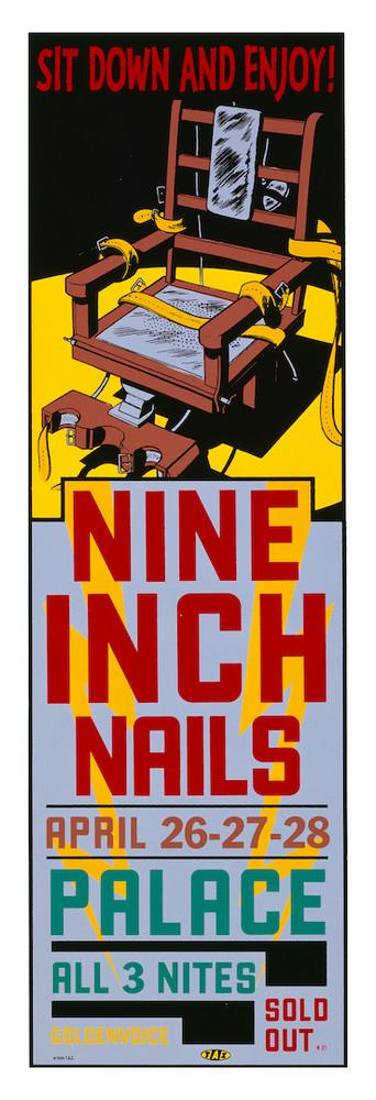 "NINE INCH NAILS by Jim ""TAZ"" Evans 1994"
